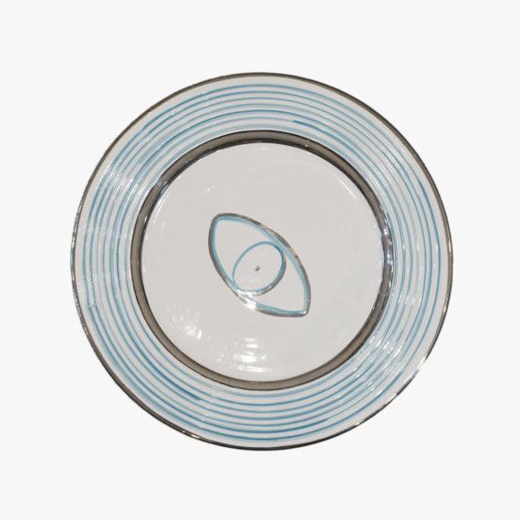 Ceramic Lucky Eye Plate