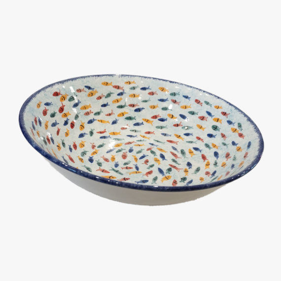Ceramic Fish Bowl (Large)