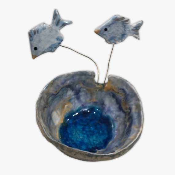 Ceramic Fish Ashtray